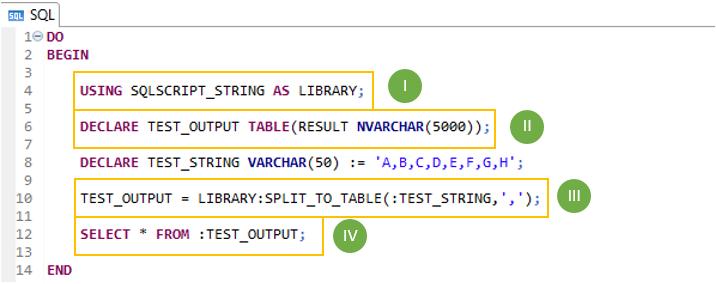 Split string into multiple rows using SQL in SAP HANA | SAP