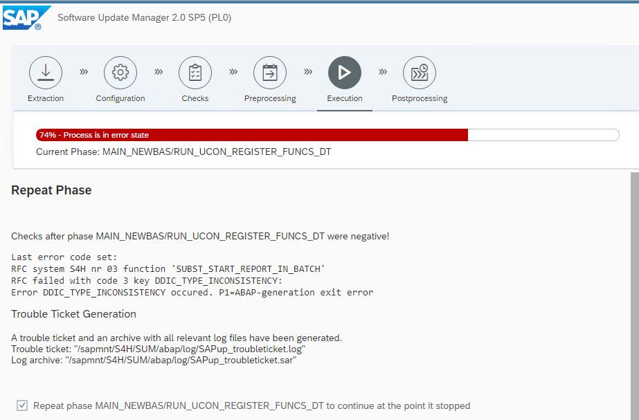 Upgrade to S/4HANA 1809 FPS01/FPS02 | SAP Blogs