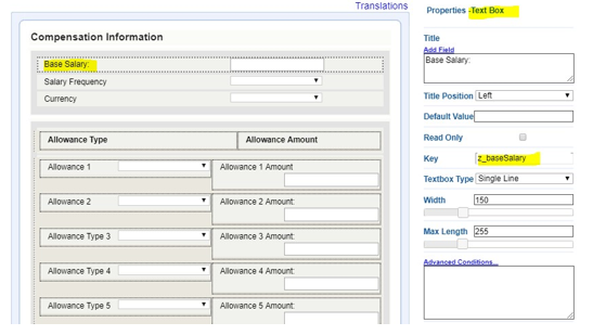 How to Map Salary/Compensation/Pay Component Fields from