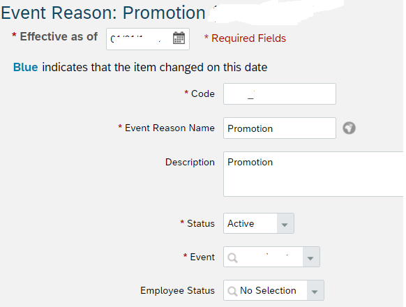 Perform actions/events on Employee records in SuccessFactors