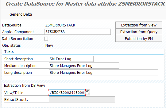 Automatically Report Rejected Rows from Error Stack | SAP Blogs