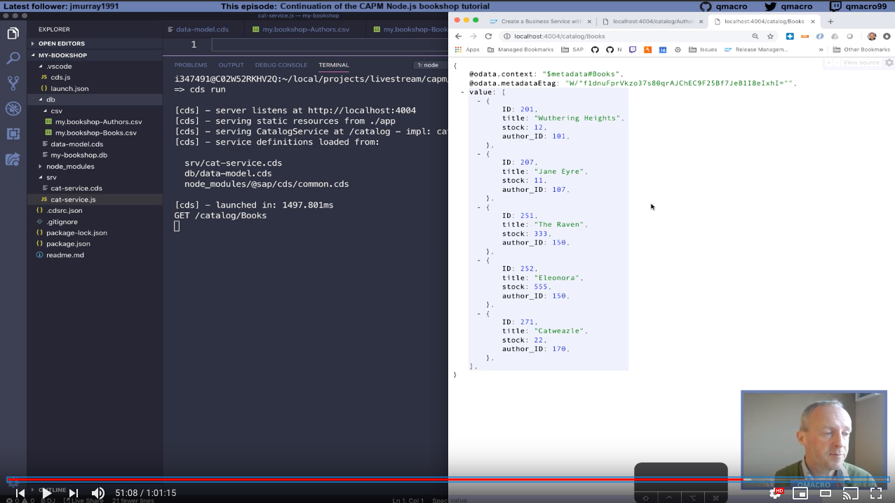Annotated links: Episode 5 of Hands-on SAP dev with qmacro | SAP Blogs