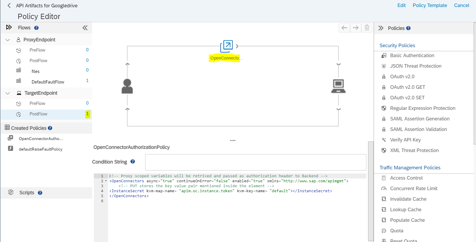 Open Connector Exploration – SAP API Management – Part 3