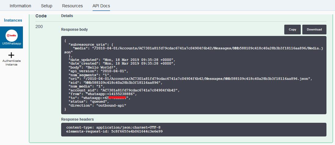 WhatsApp Event Notification with Google Calendar, Zapier and SAP