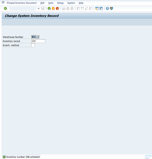 Physical Inventory with respect to WM | SAP Blogs