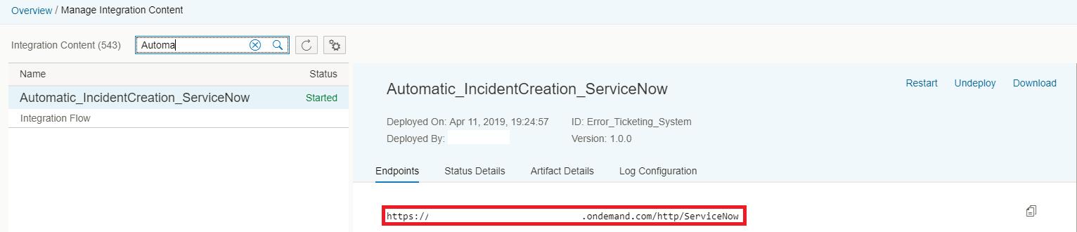 OpenConnectors-ServiceNow Integration – Part 2 | SAP Blogs