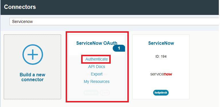 OpenConnectors-ServiceNow Integration – Part 1 | SAP Blogs