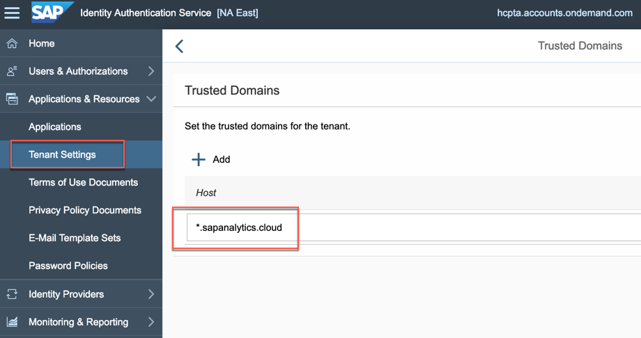 Embedding SAP Analytics Cloud (SAC) dashboards in SAP Cloud