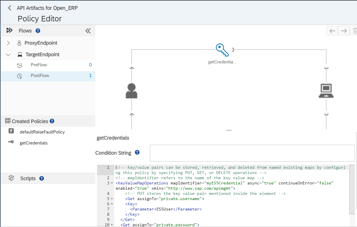 Working with Encrypted Key Value Maps using SAP Cloud