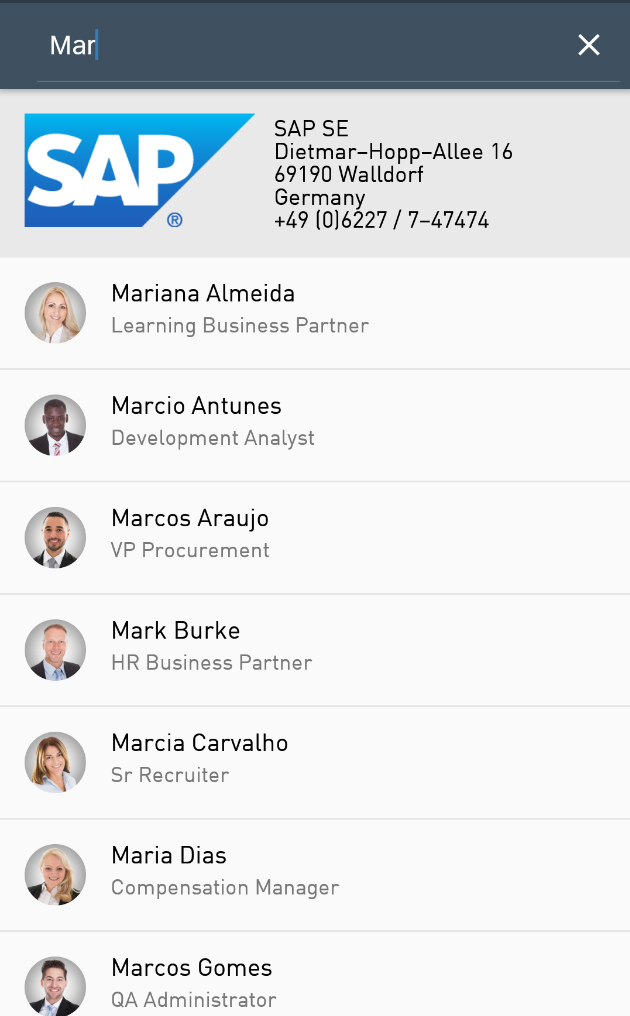 Creating a Corporate Directory App with SAP's Cloud Platform