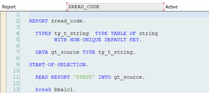 How to scan ABAP code ? | SAP Blogs