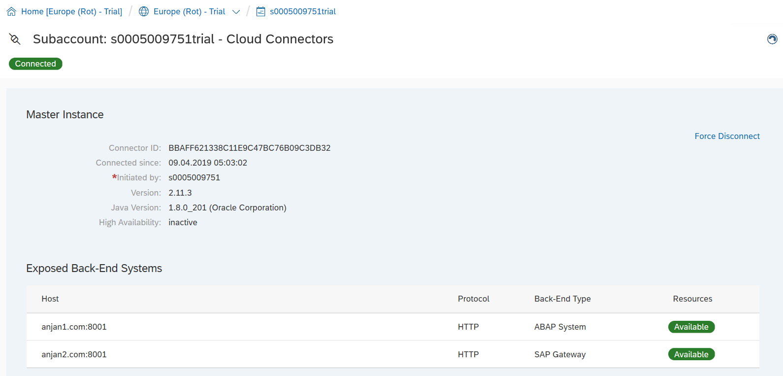 Implementation of Workflow in SAP Cloud Platform with back
