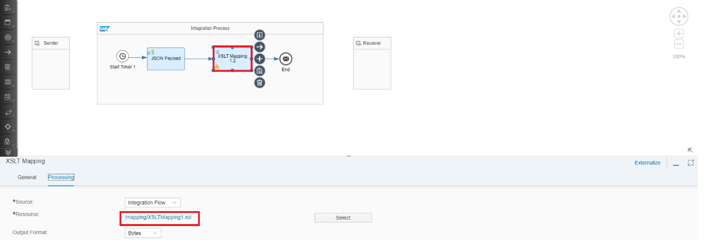 Cloud Platform Integration – XSLT Mapping is enriched with
