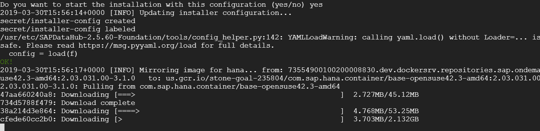 SAP Data Hub 2 5 fresh Installation on Google Cloud | SAP Blogs