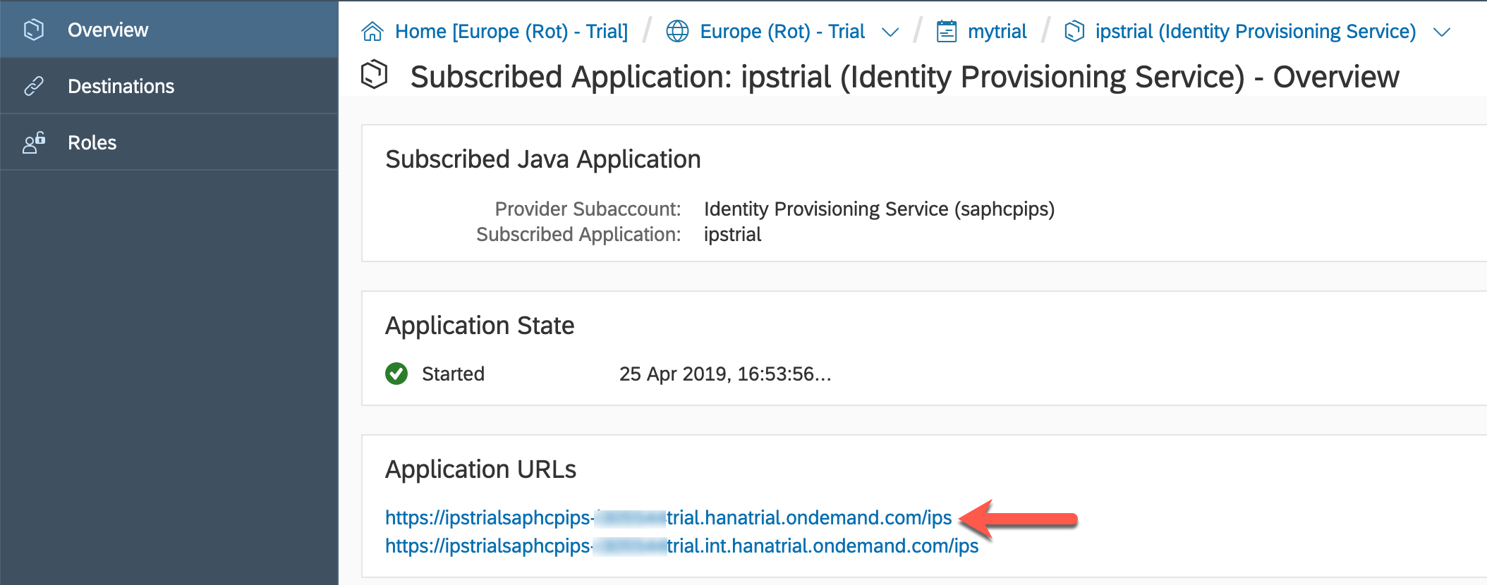 Using Identity Authentication and Provisioning service to