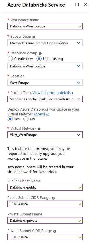 Your SAP on Azure – Part 17 – Connect SAP Vora with Azure Databricks