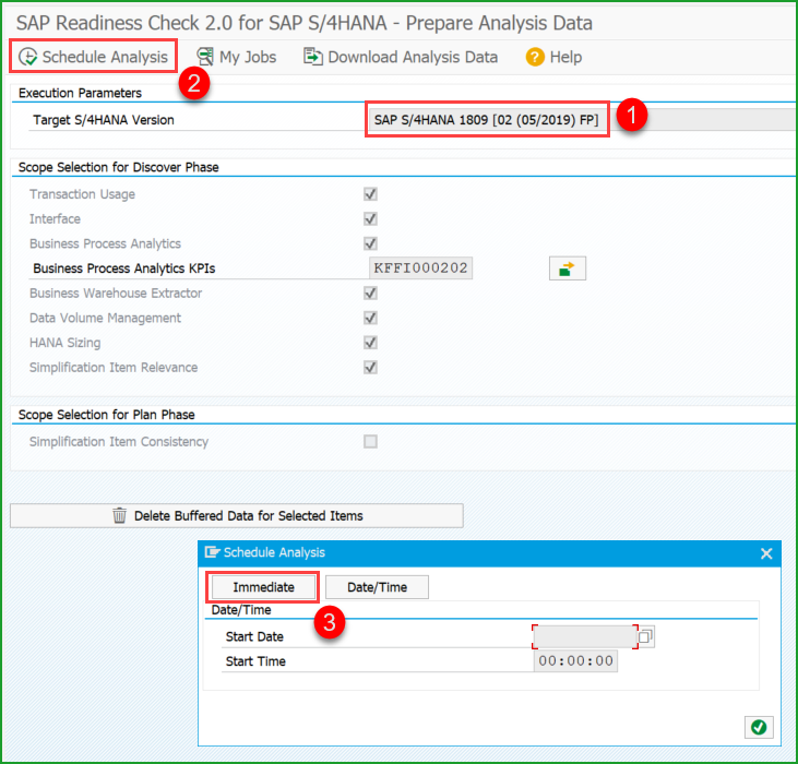 Conversion to S/4HANA 1809FPS0 – t2 – Readiness Check 2 0