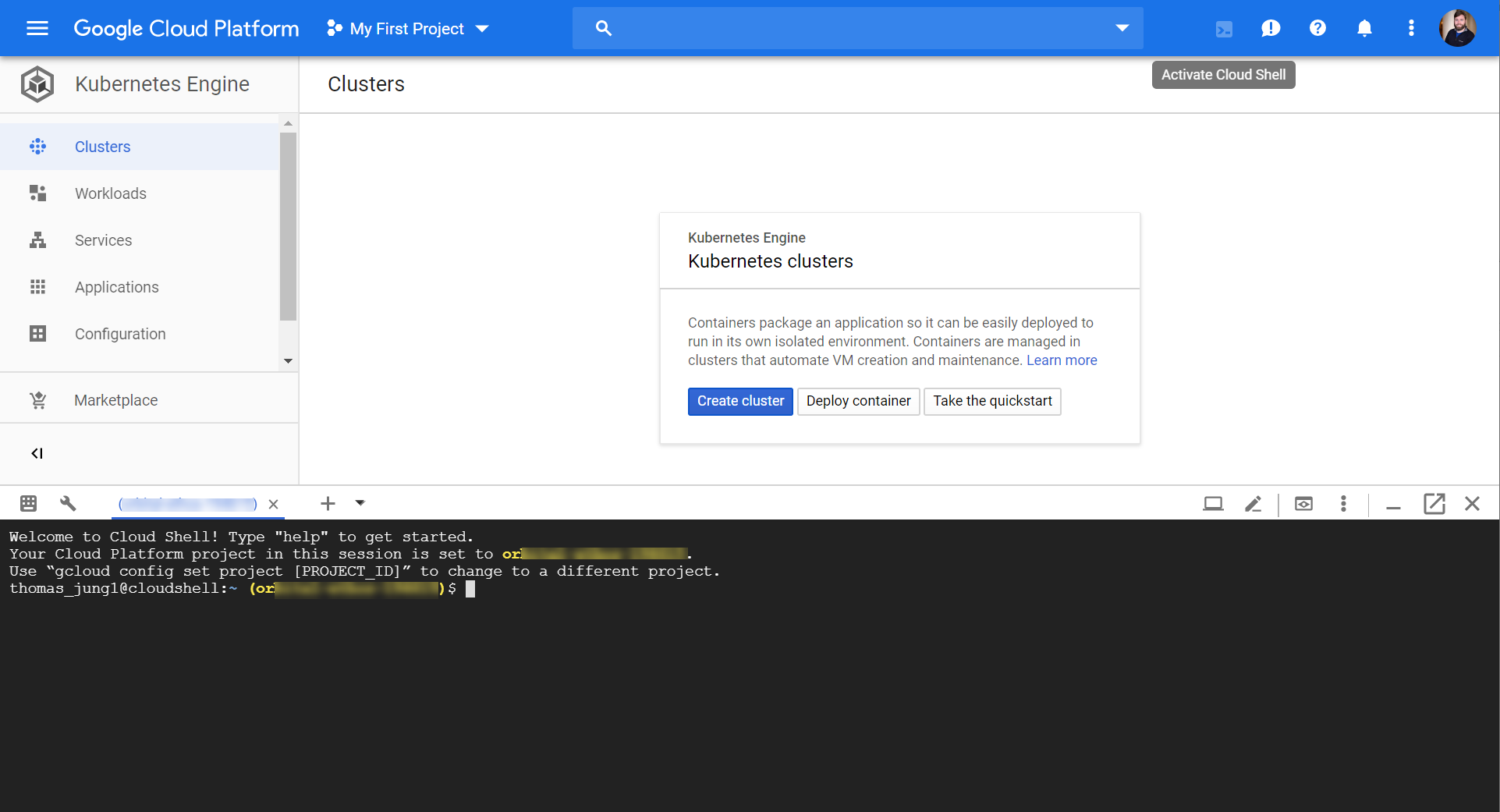 SAP Development Using Google Cloud Shell | SAP Blogs