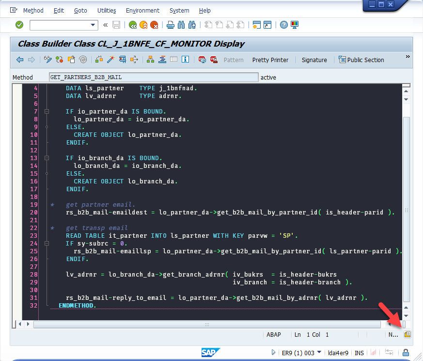 ABAP Dark Theme for NetWeaver   SAP Blogs