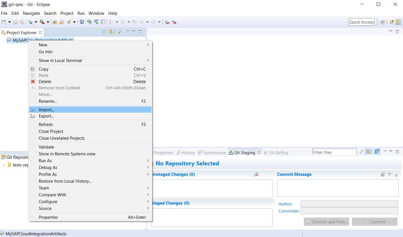 SAP Cloud Platform Integration – External Version Management