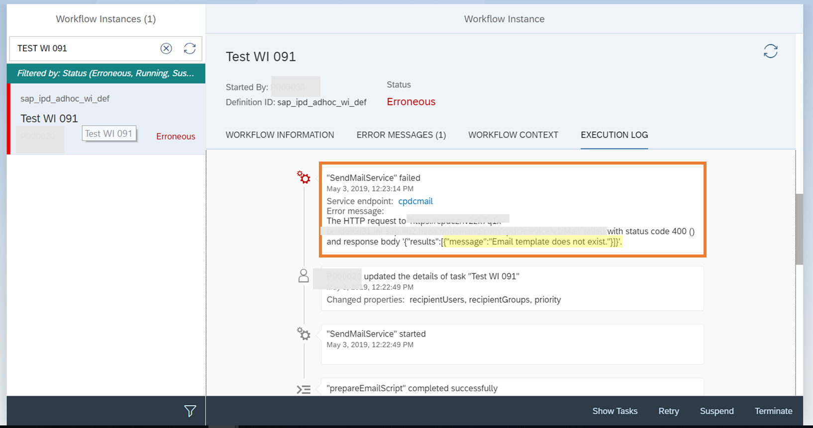 Configuring Notification Mails with Custom Email Templates