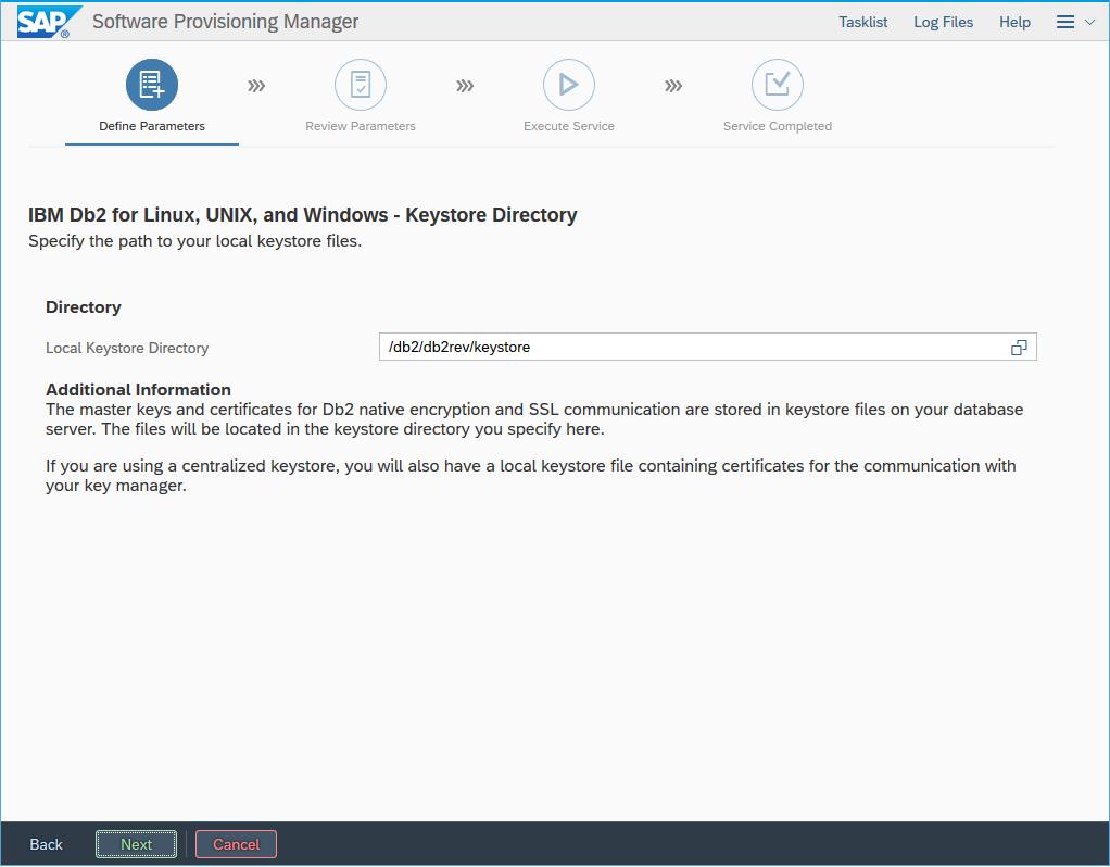 Easier Setup of Db2 Native Encryption and SSL During SAP System