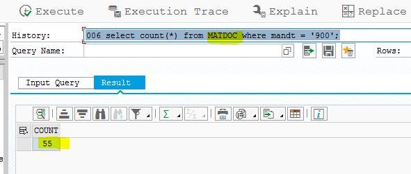 S/4 HANA : MSEG or MATDOC Where is my data going? | SAP Blogs