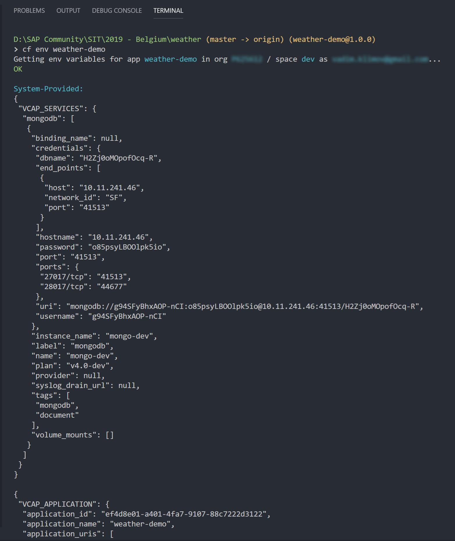 SIT Belgium 2019 Recap] Debugging Node js Applications in SCP CF