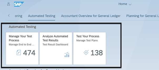 "How do I set up the ""Test Automation Tool"" in SAP S/4HANA"