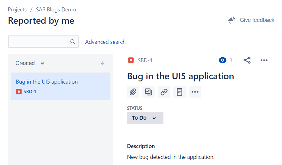 Integrate Web IDE and Jira using SCP Open Connectors – Part