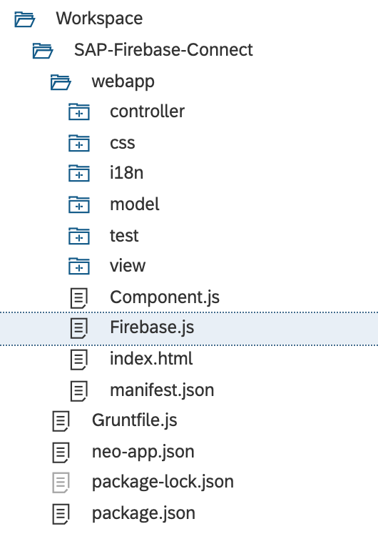 Create SAPUI5 Applications with Google Firebase | SAP Blogs