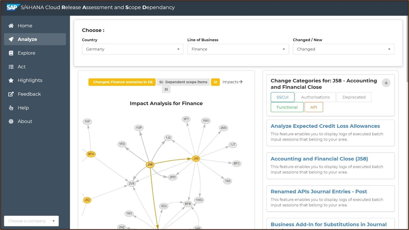 New for SAP S/4HANA Cloud: Release Assessment and Scope