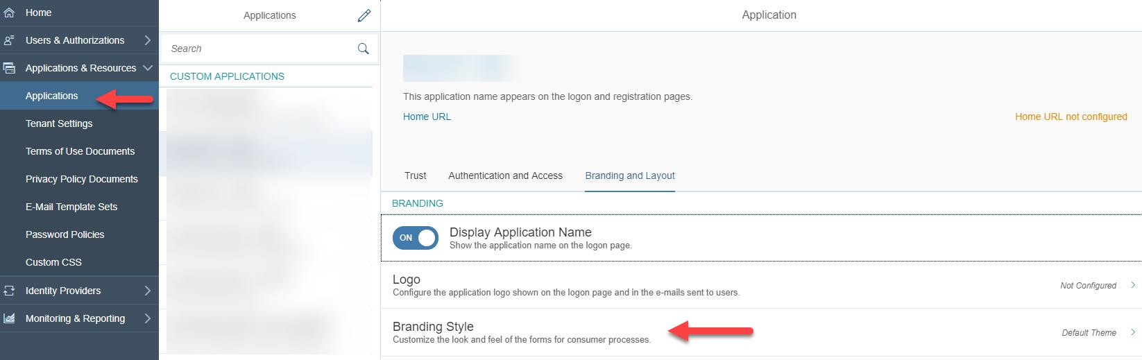 Customize SAP Cloud Platform Identity Authentication (IAS