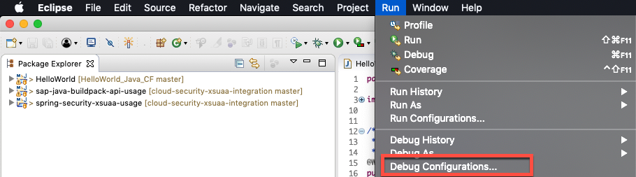 Max's Adventure in SAP Cloud Platform: Debug your Java application