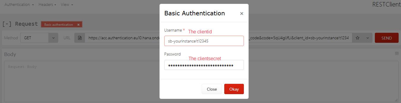 SAP Cloud Platform Backend service: Tutorial [15]: Security