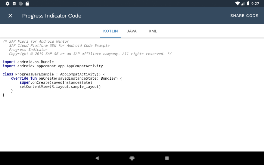 Create an Android SAP Cloud Platform App using Kotlin and the SAP