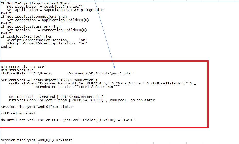 VB script/SAP GUI script for mass role assignment – | SAP Blogs