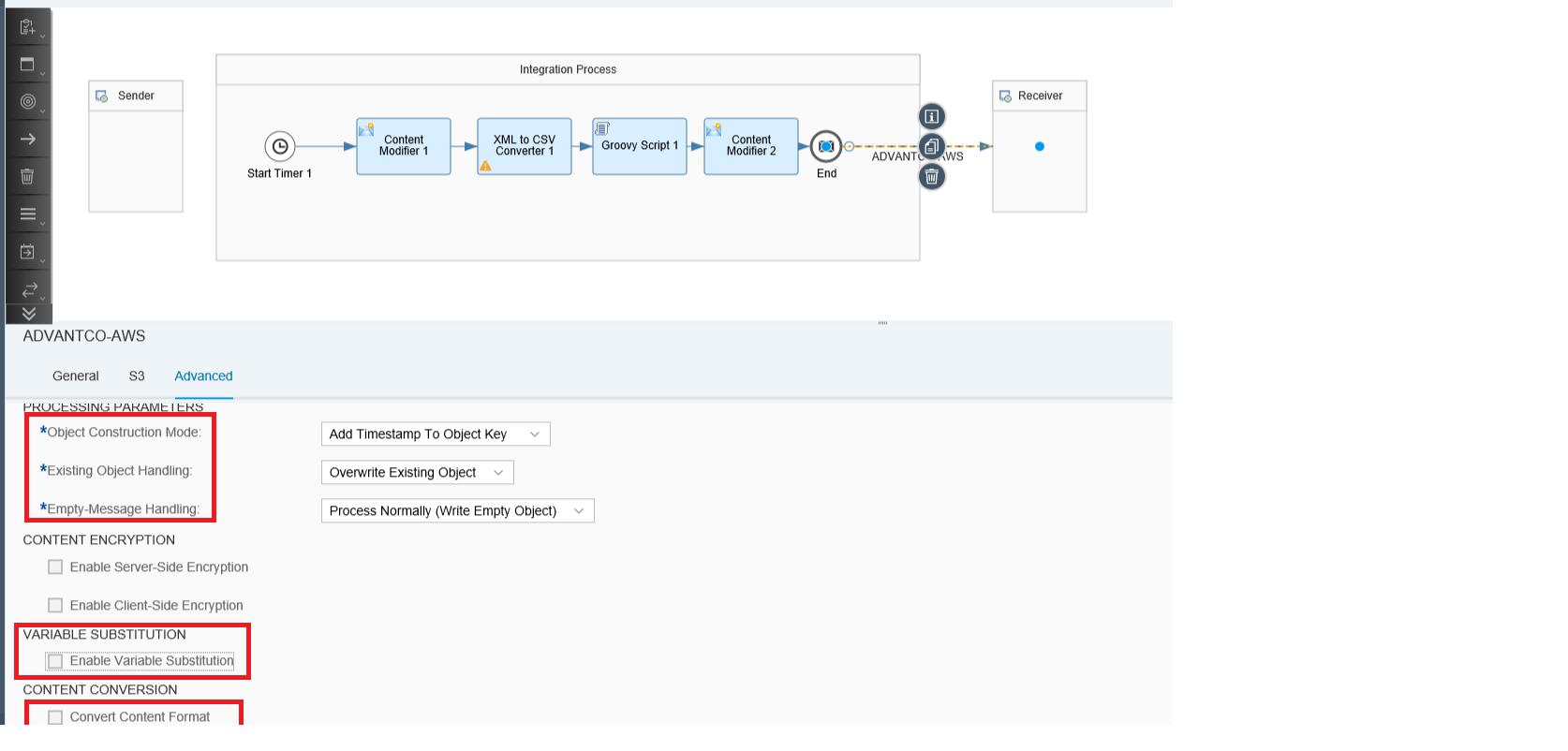 Advantco Adapter-Amazon S3 Integration made simple with SAP CPI