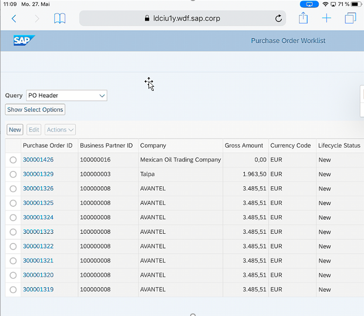Web Dynpro ABAP on a Touch Device | SAP Blogs