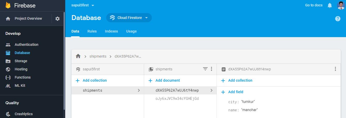 Create SAPUI5 Applications with Google Firebase | SAP Blogs