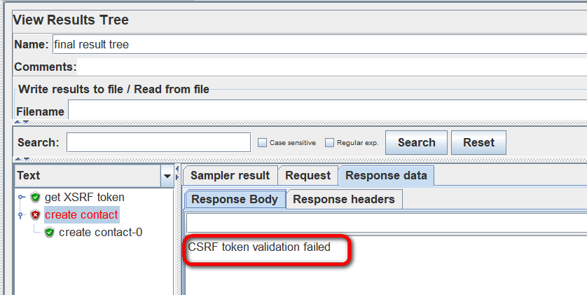 Use jMeter to test SAP Cloud API authenticated by SAP ID