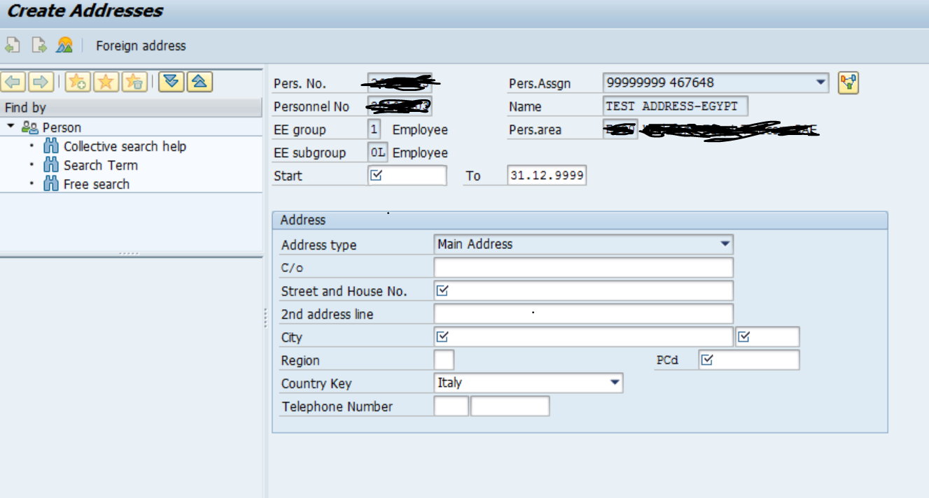 How to solve a common and complex Employee Address Data problem in a