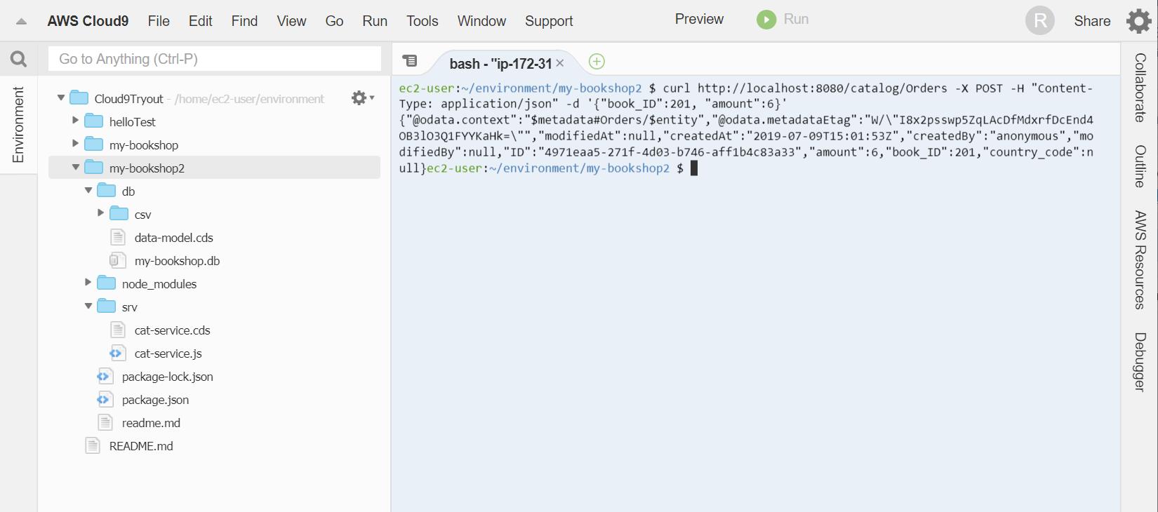 SAP Development Using Amazon Cloud9 | SAP Blogs