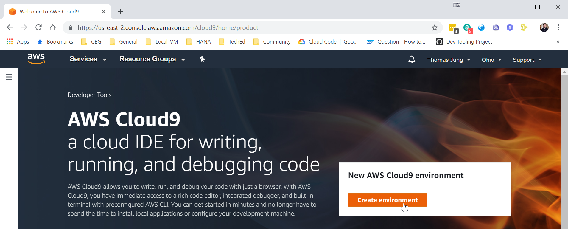 SAP Development Using Amazon Cloud9 | SAP Blogs