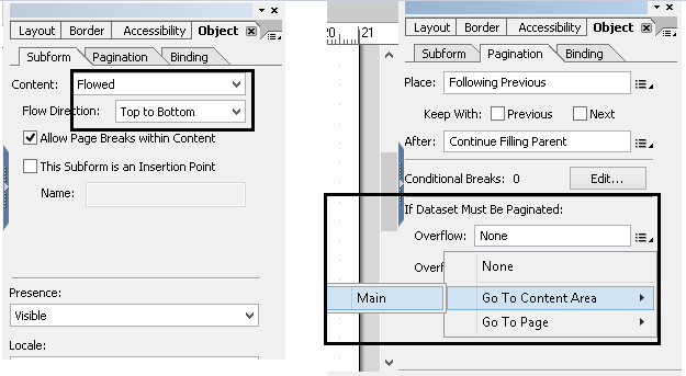 Common errors and difficulties faced in ADOBE FORMS