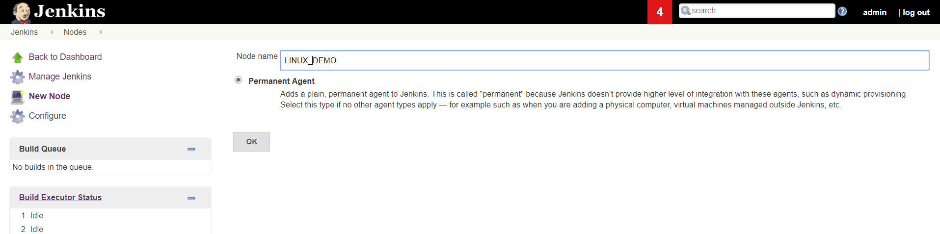 Jenkins Configuration- Windows as Master and Linux as Slave