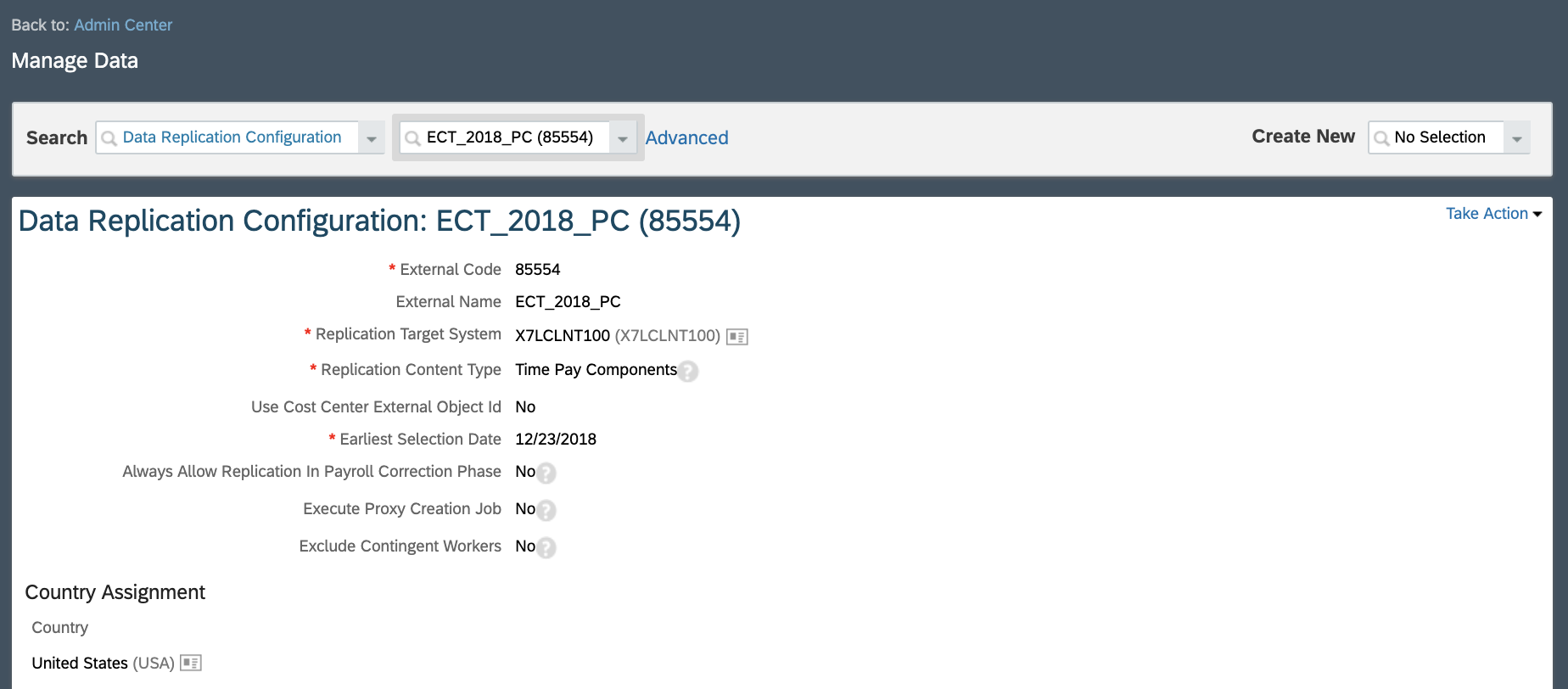 Replicating Time Data from Employee Central to ECP: An