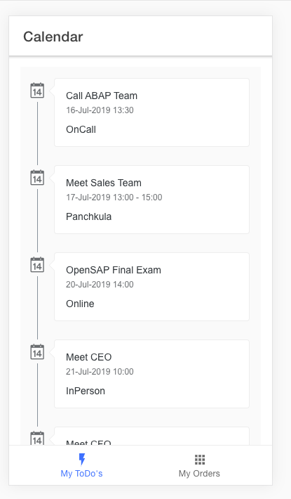 SAPUI5 Web Components with Ionic and CAPM   SAP Blogs