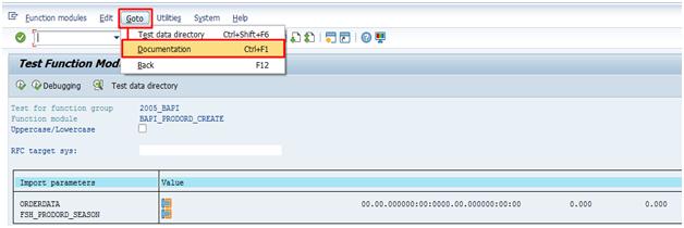 BAPI Simulation & Finding BAPI | SAP Blogs