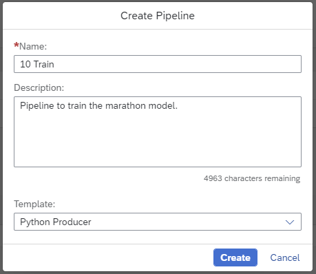 SAP Data Intelligence: Create your first ML Scenario | SAP Blogs